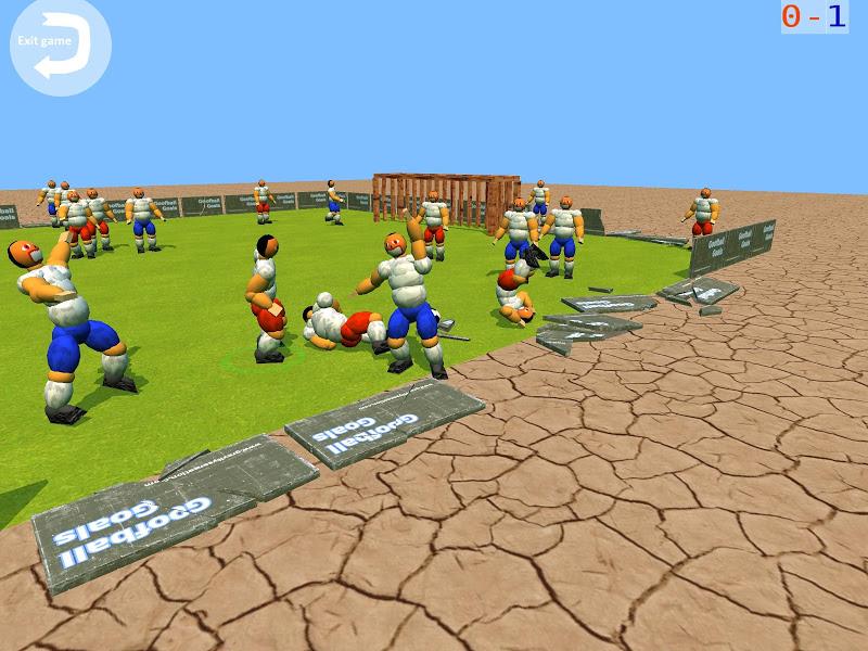 Скриншот Goofball Goals Soccer Game 3D