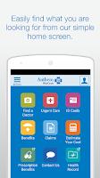Screenshot of Anthem Blue Cross
