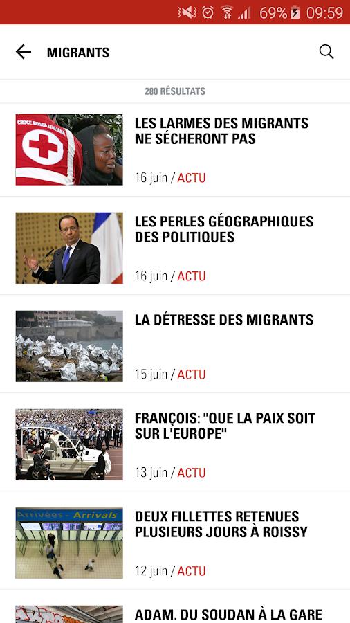 Paris Match Actu- screenshot