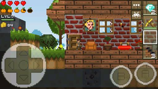 LostMiner: Block Building & Craft Game apktram screenshots 7
