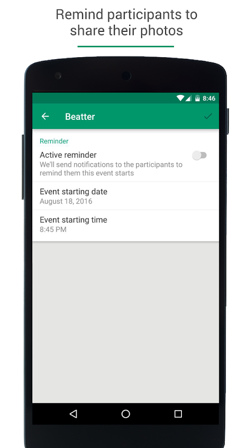 Beatter - Share photos- screenshot