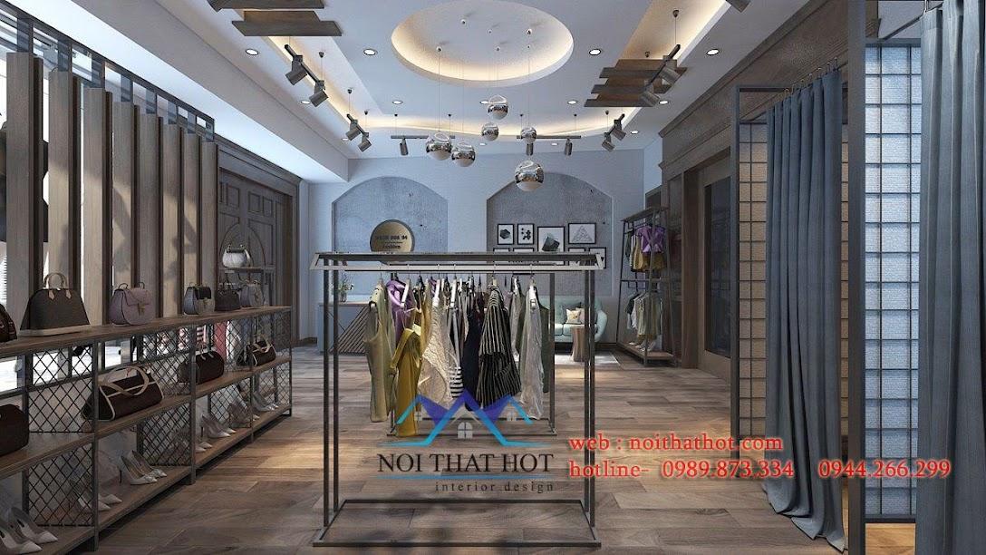 thiết kế shop thời trang nữ lily 5