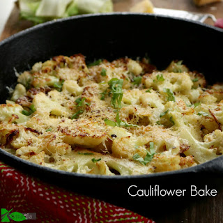 Buttery Oven Roasted Cauliflower.