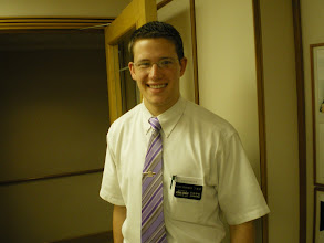 Photo: Greeted by Elder Dearinger from St. George