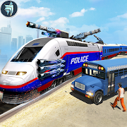 US Police Prisoner Transport Bus : Train Shooter