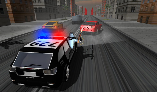 Police Car Racer 3D 8 screenshots 3