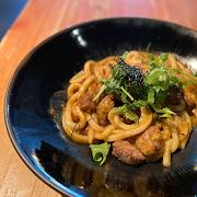AAA Steak Curry Yakiudon