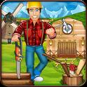 Village Farm House Builder icon