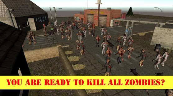 Zombie Ninja Killer Apocalypse Screenshot