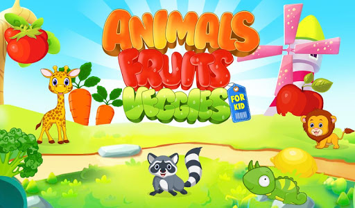 Animals Fruits Veggies For Kid v1.0.1