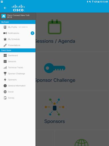 Cisco Events screenshot 7