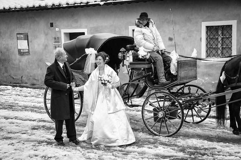 Sposa innevata, sposa fortunata di marco pardi photo
