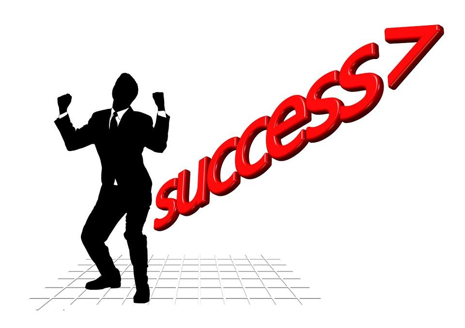 Career, Man, Career Ladder, Silhouette, Rise, Social