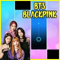 KPOP Piano Black Pink Tiles icon