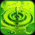 Drops Rain Live Wallpaper icon