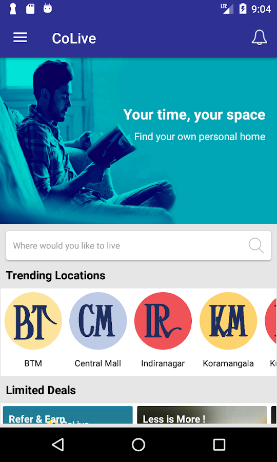 CoLive - Shared Space Rentals- screenshot