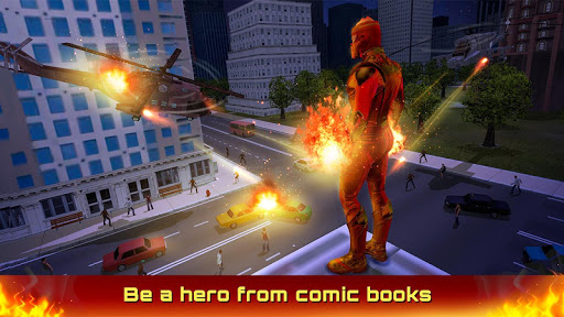 Fire Blaze Vice Town Superhero Simulator 1.0.0 screenshots 1