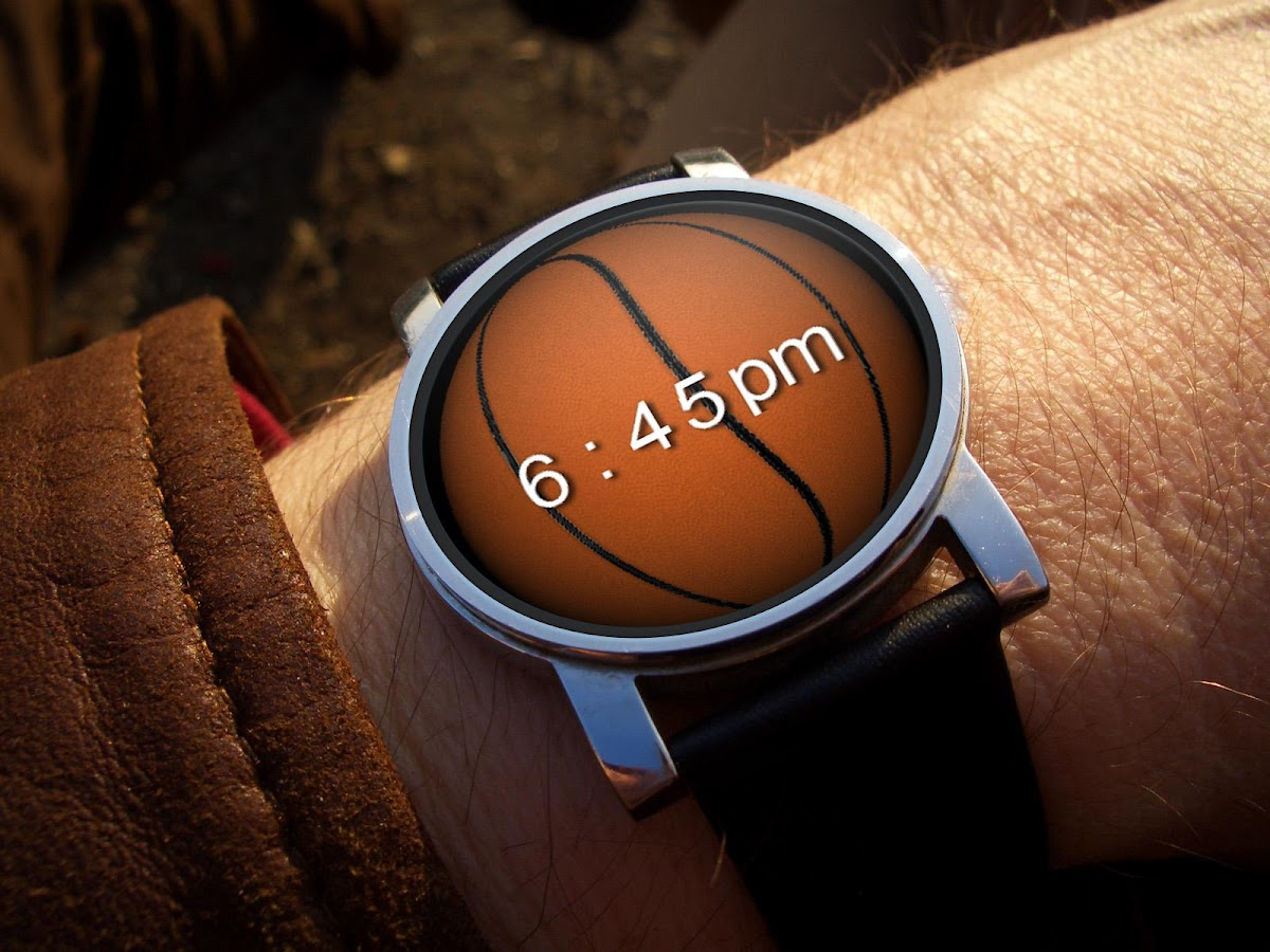 Sports 3D Watch Face- screenshot