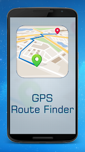 GPS Route finder & Navigation- screenshot thumbnail