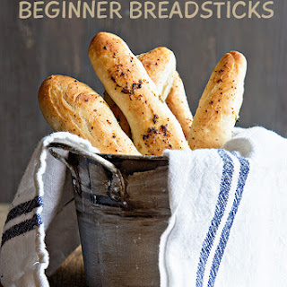 Mouth Watering Bread Machine Breadsticks