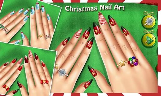 Christmas Nail Salon - náhled