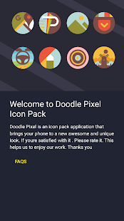 Doodle Pixel - Icon Pack Screenshot