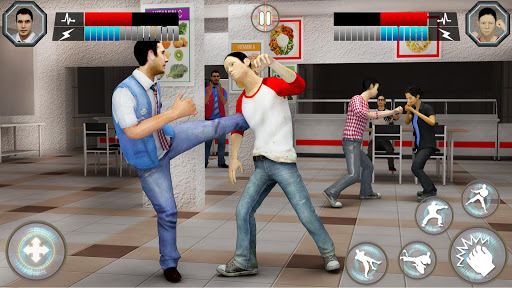 High School Bully Gangster: Karate Fighting Games 1.0.10 screenshots 3