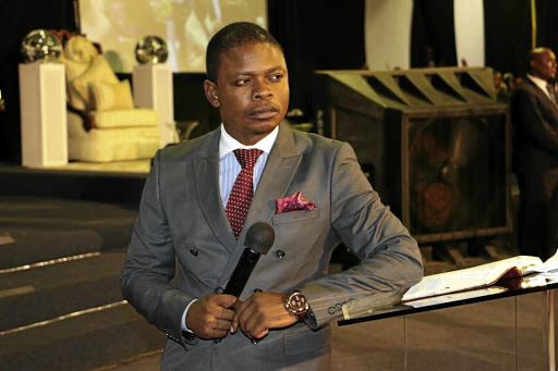 """Prophet"" Shepherd Bushiri has been criticised by the CRL Commission for charging his followers R25000 to sit next to him at a gala dinner. / Facebook"