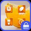 Sweet Orange Locker theme icon
