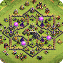 Maps of Coc TH9 icon