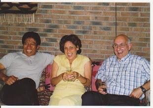 Photo: Guus Hahijari, Edith Damen en Eric Weskin