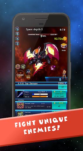 Gachi in Space: IDLE RPG screenshot 6
