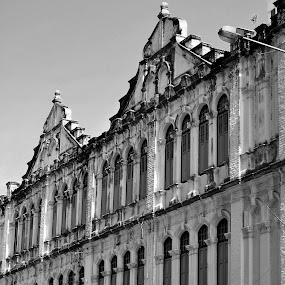 Black & White Buildings by Asrin Afe - Buildings & Architecture Public & Historical