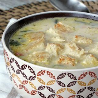 Chicken Florentine Soup.
