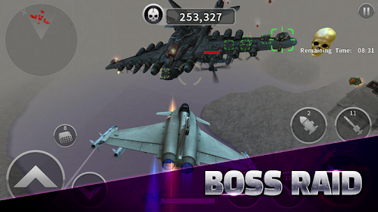 Gunship Battle Helicopter 3D MOD APK + OBB (Unlimited Coins) 4