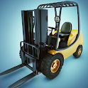 Forklift Constraction Lift Game 2021 icon