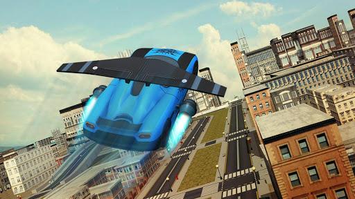 Free Flying Racing Car Driving 1.1 screenshots 10