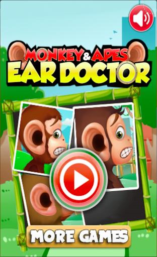 清洁我的猴子的耳朵