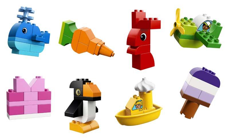 Contenido de Lego® 10865 Creaciones Divertidas