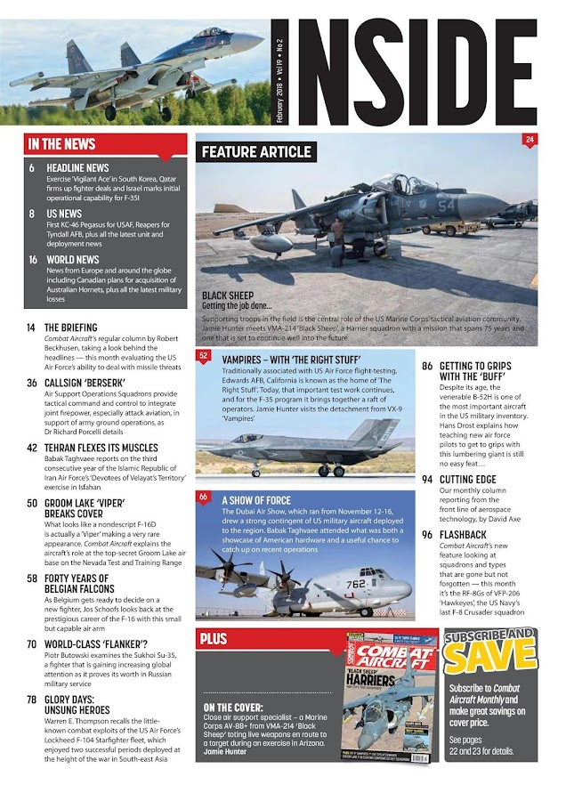 Combat Aircraft Magazine- screenshot
