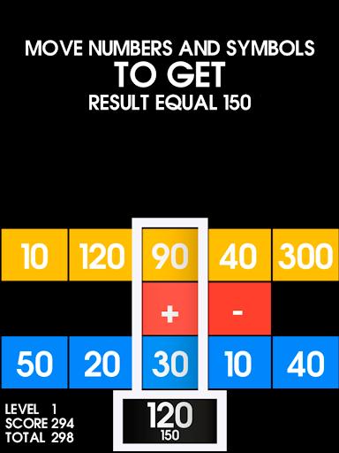 Totalslider - math exercise