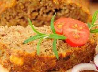 Diabetic/Home-Style Meat Loaf