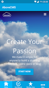 AboveCMS - Create Your Passion- screenshot thumbnail