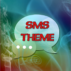 Smoke Fire Theme GO SMS Pro icon