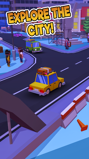 Taxi Run - Crazy Driver  screenshots 6