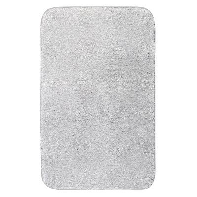 Коврик для ванной Grund Melange серебряный 50х80 см