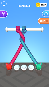 Tangle Master 3D Mod APK (Unlimited Coins/No Ads) for Android 1