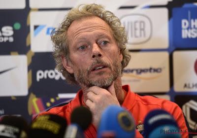 """Preudhomme évacue la pression: """"Le titre et la défaite à Anderlecht, ce n'est plus le moment d'y penser"""""""