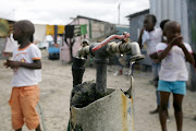 Poor water conditions can lead to an outbreak of cholera.