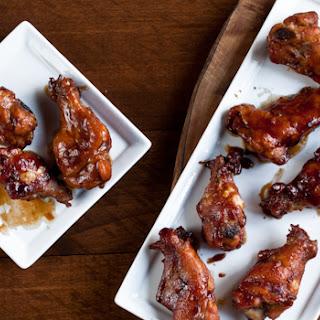 Hoisin Stout Chicken Wings